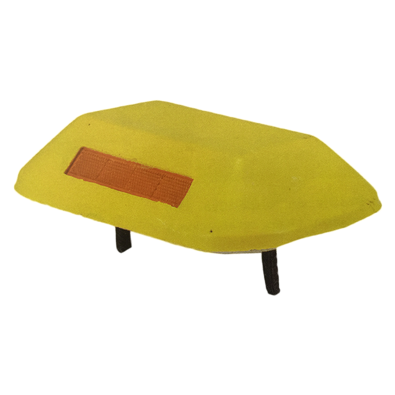 Tachón Bidireccional Rectangular Amarillo